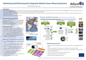 Optimising and Enhancing the Integrated Atlantic Ocean Observing System